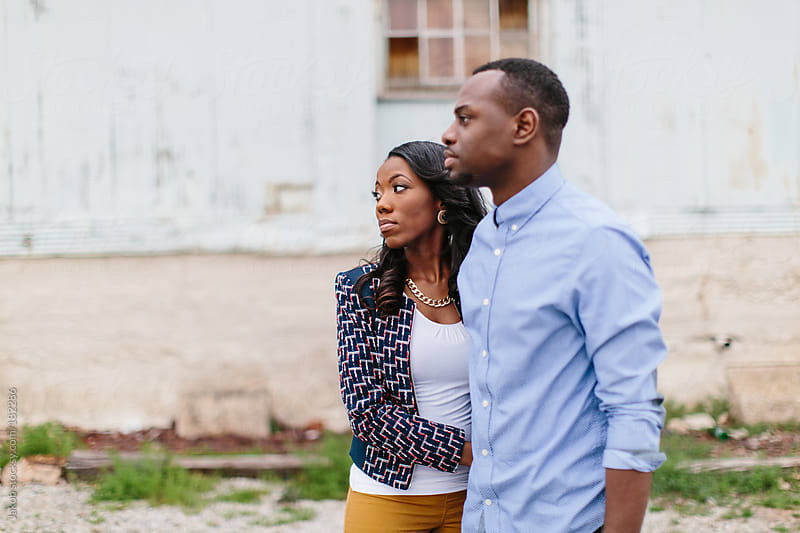 African-American couple in love by Jakob for Stocksy United