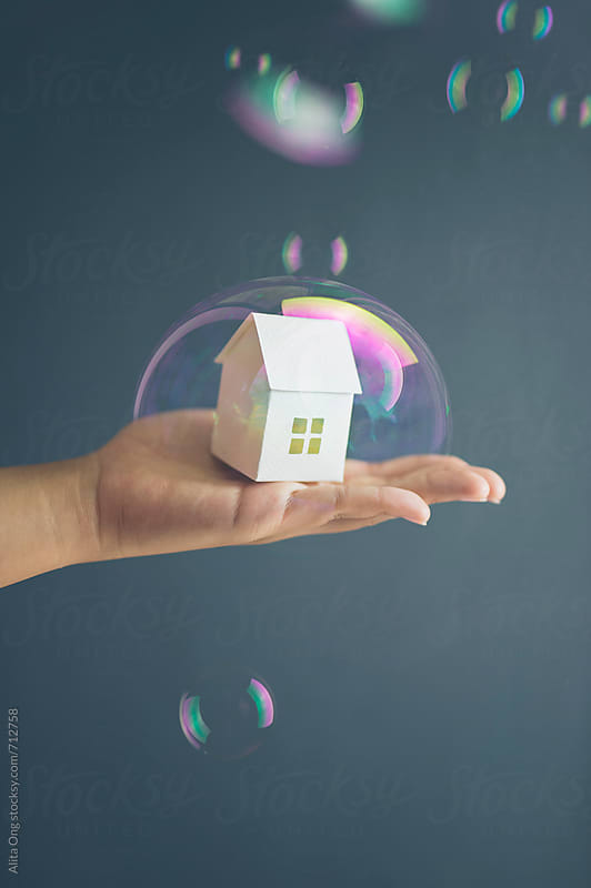 Property bubble by Alita Ong for Stocksy United