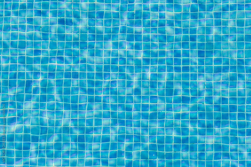 Swimming Pool Water Background by VICTOR TORRES for Stocksy United