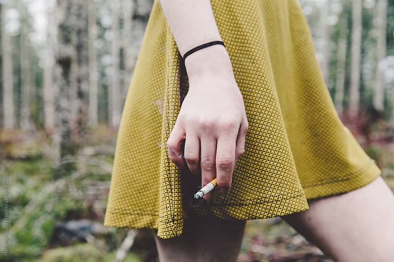 Beautiful cigarette by Neil Mendoza for Stocksy United