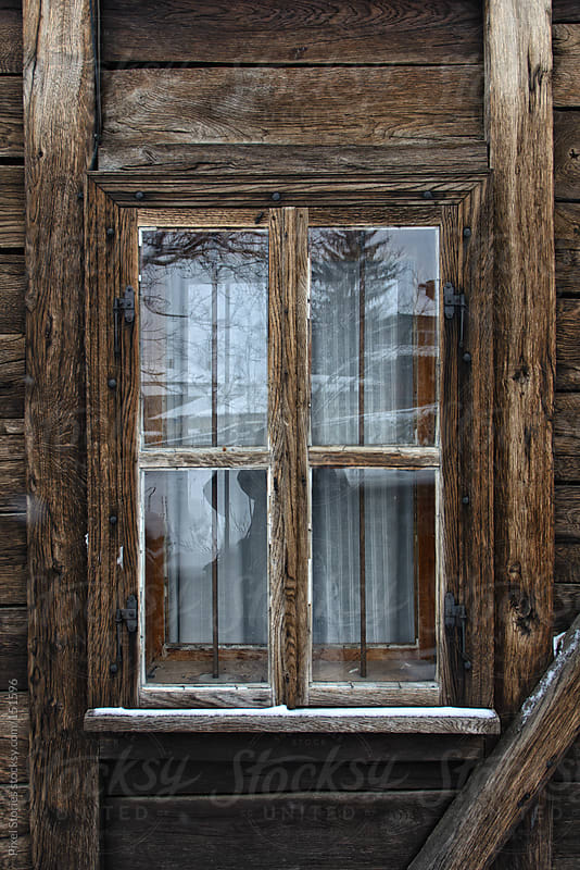 Old wooden window by Pixel Stories for Stocksy United