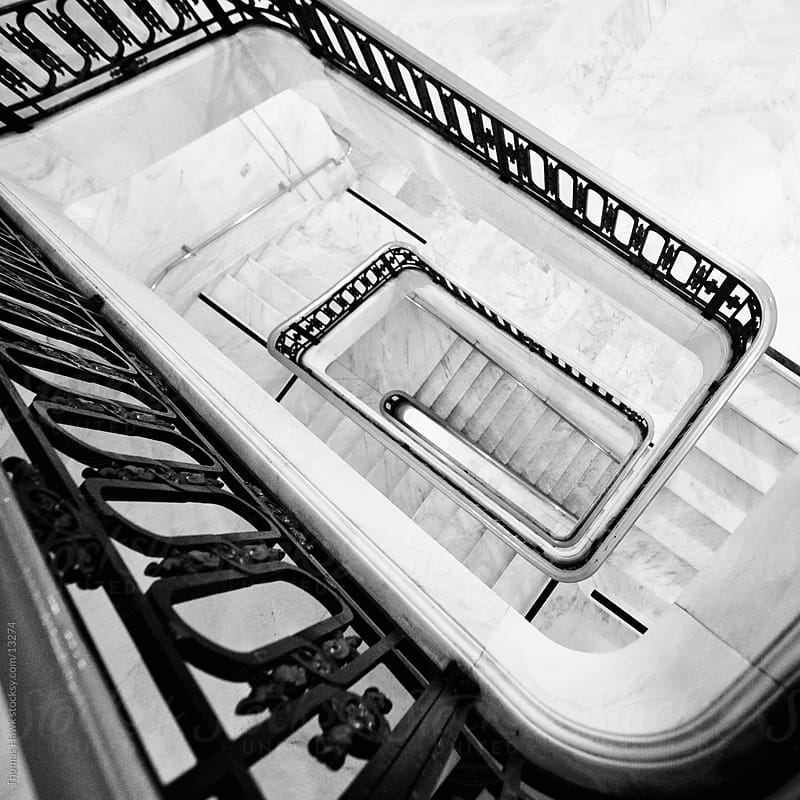 Stairs in San Francisco City Hall by Thomas Hawk for Stocksy United
