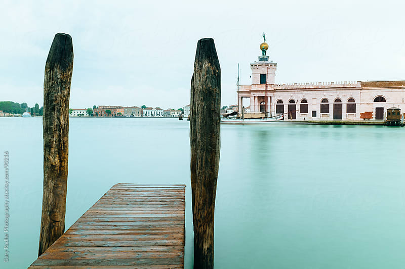 Pier on the Grand Canal in Venice by Gary Radler Photography for Stocksy United