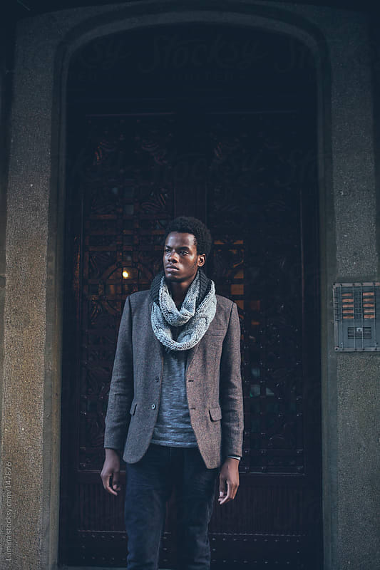 Cool African Man by Lumina for Stocksy United