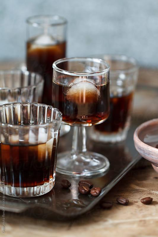 Coffee liqueur by Dobránska Renáta for Stocksy United