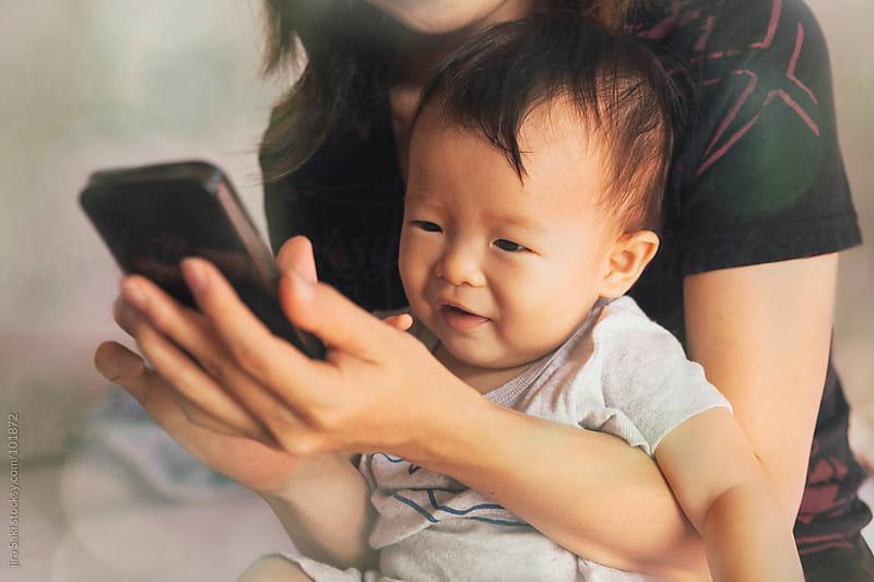 smartphone by jira Saki for Stocksy United