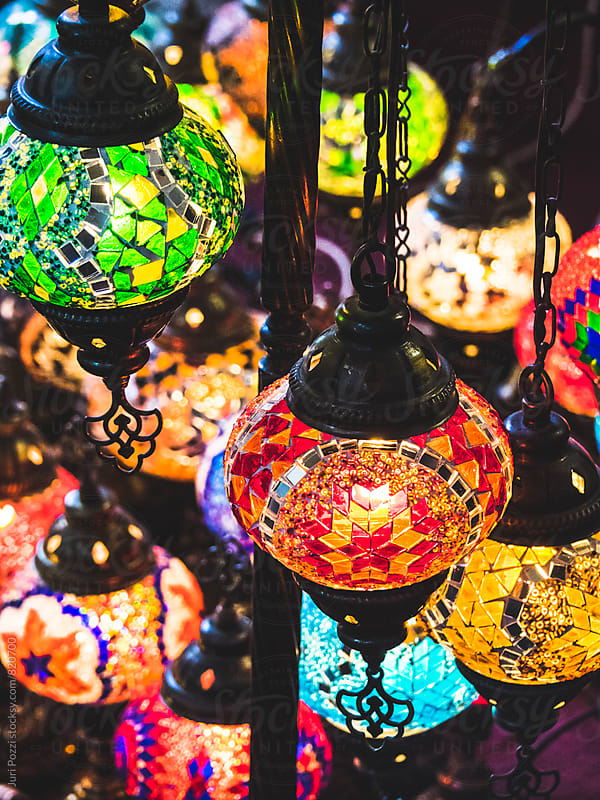 decorative arabian lanterns by Juri Pozzi for Stocksy United