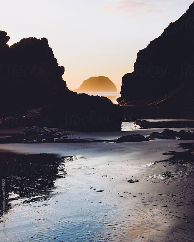 Acadia Beach, Oregon by Cameron Whitman for Stocksy United