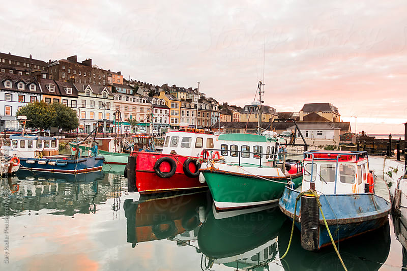 Fishing Boats at Cobh, Ireland by Gary Radler Photography for Stocksy United