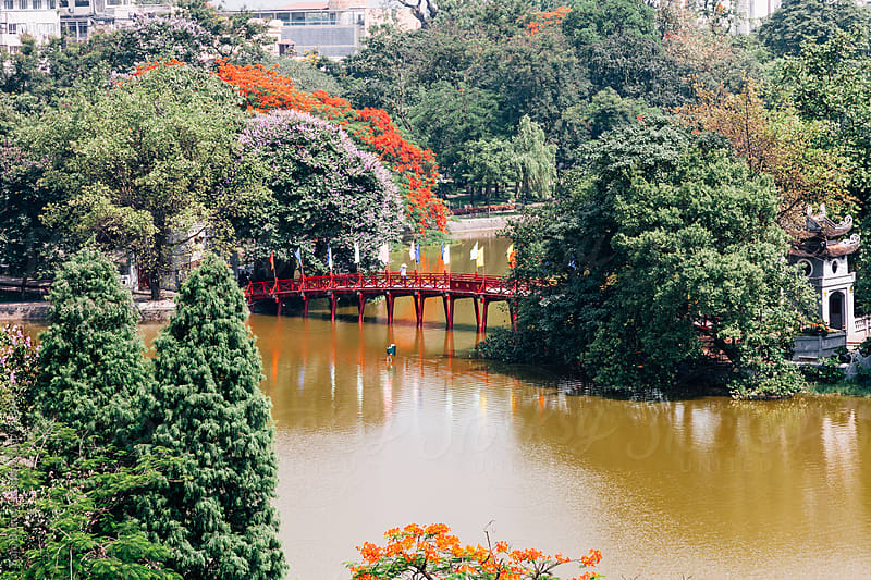 Hoan Kiem Lake by Sam Burton for Stocksy United