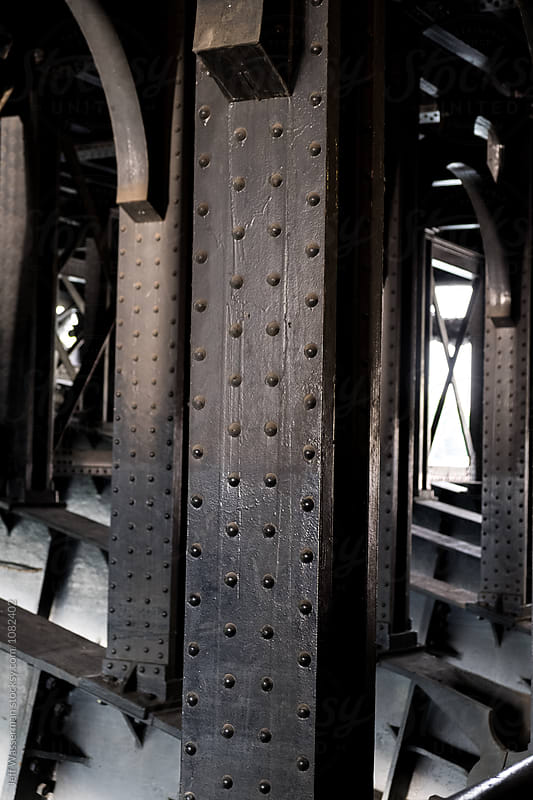 Iron Girders by Jeff Wasserman for Stocksy United