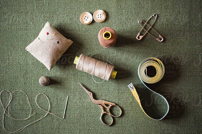 Tools for sewing by michela ravasio for Stocksy United
