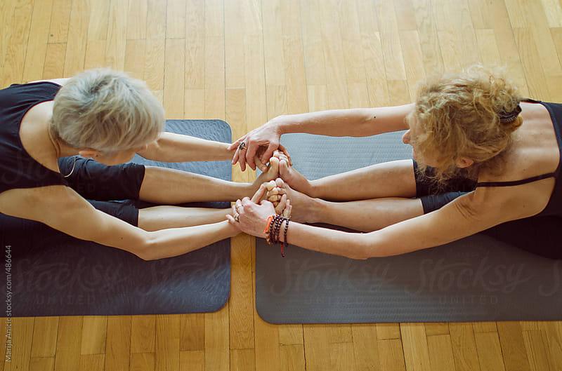 Yoga class by Marija Anicic for Stocksy United