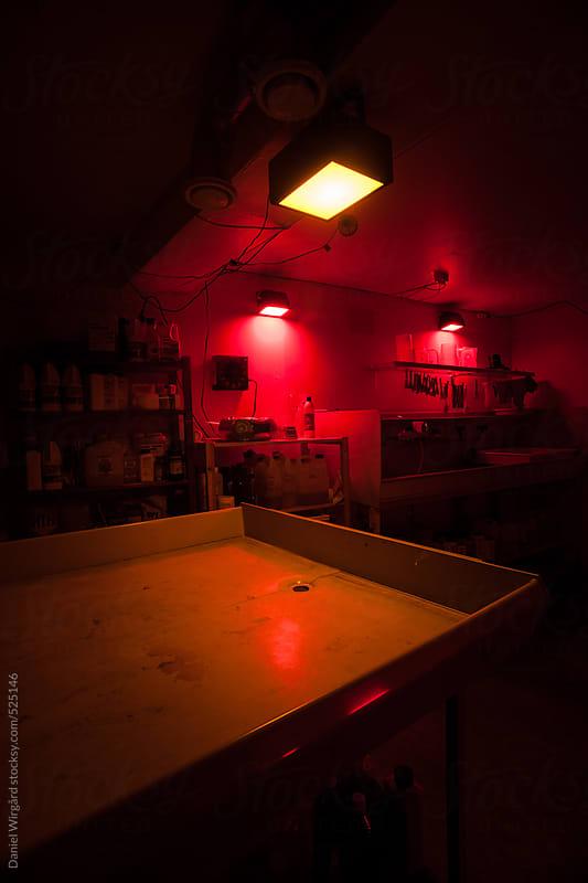 Darkroom by Daniel Wirgård for Stocksy United