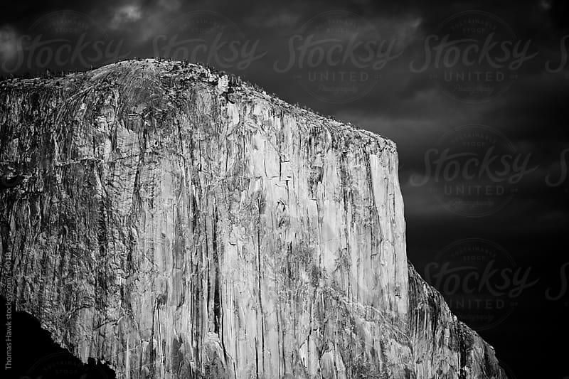 Last Sun on El Capitan -- Yosemite, CA by Thomas Hawk for Stocksy United