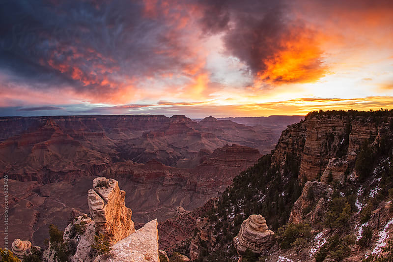 Grand Canyon Mornings by Matiash, Inc. for Stocksy United