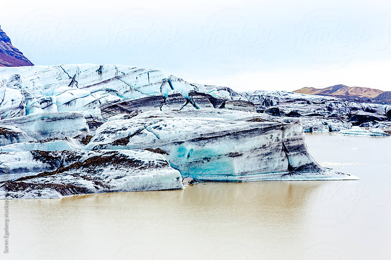 Glacier in Iceland by Soren Egeberg for Stocksy United