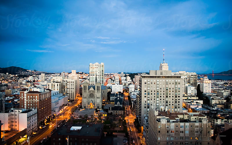 San Francisco atop Nob Hill by Thomas Hawk for Stocksy United