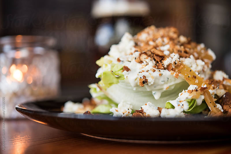 Iceberg Wedge Salad by Aubrie LeGault for Stocksy United