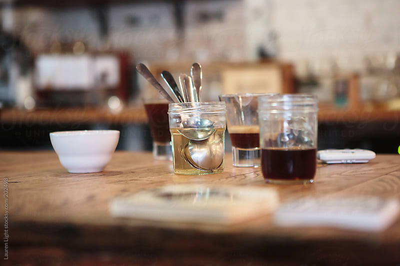 Coffee Cupping by Lauren Light for Stocksy United