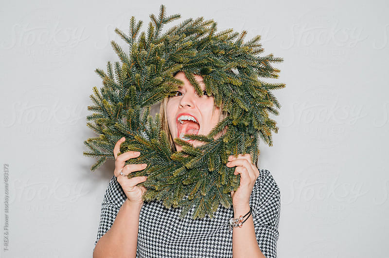 Woman having fun by T-REX & Flower for Stocksy United