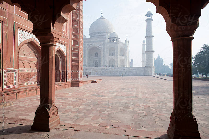The Taj Mahal in early morning light. Agra. India by Hugh Sitton for Stocksy United