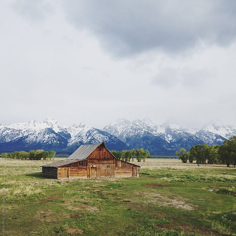 Teton Barn by Kevin Russ for Stocksy United