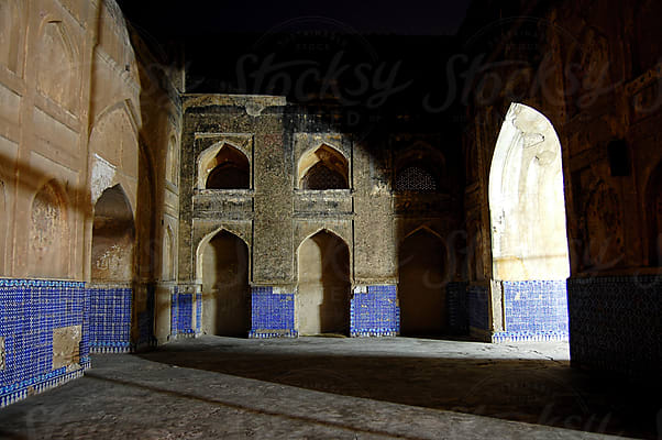 The Shah Jahan Mosque Thatta, Sindh province, Pakistan  by