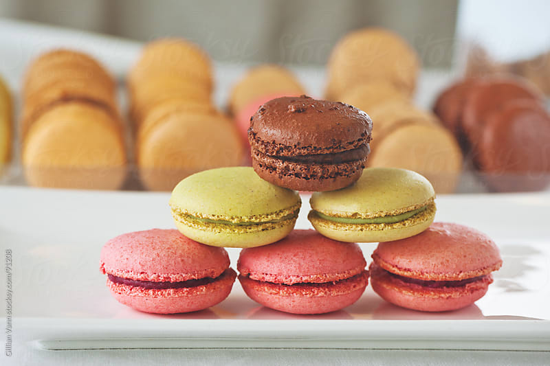 macarons by Gillian Vann for Stocksy United