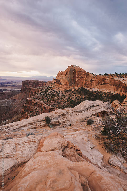 Overlook at Canyonlands National Park by michelle edmonds for Stocksy United