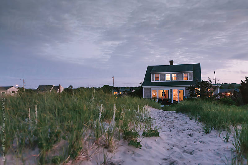 Cape Cod Cottage in Dunes by Raymond Forbes LLC for Stocksy United