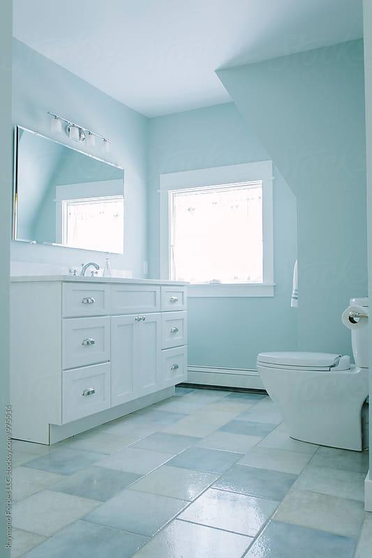 Contemporary Bathroom by Raymond Forbes LLC for Stocksy United
