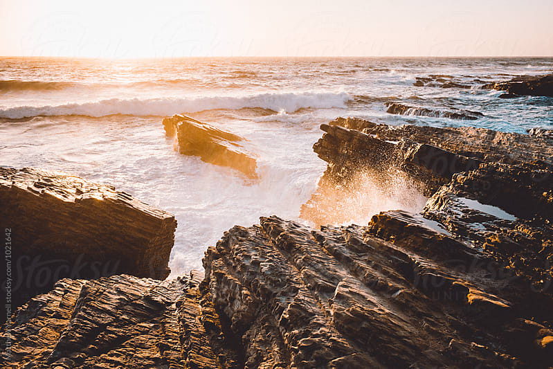 Pacific Sunset in Montana de Oro by Matthew Yarnell for Stocksy United