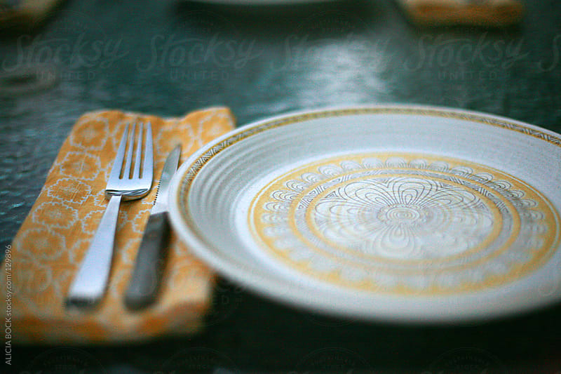 Dinner Place Setting by ALICIA BOCK for Stocksy United