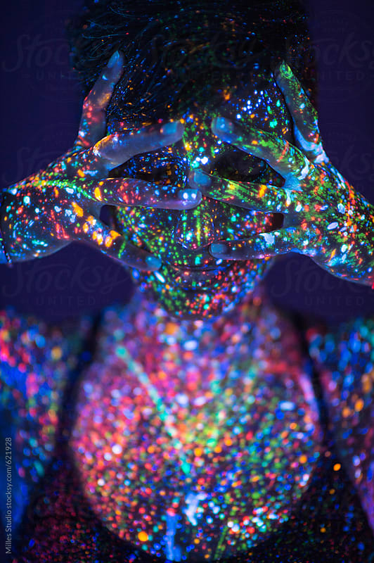 Glowing Girl by Milles Studio for Stocksy United