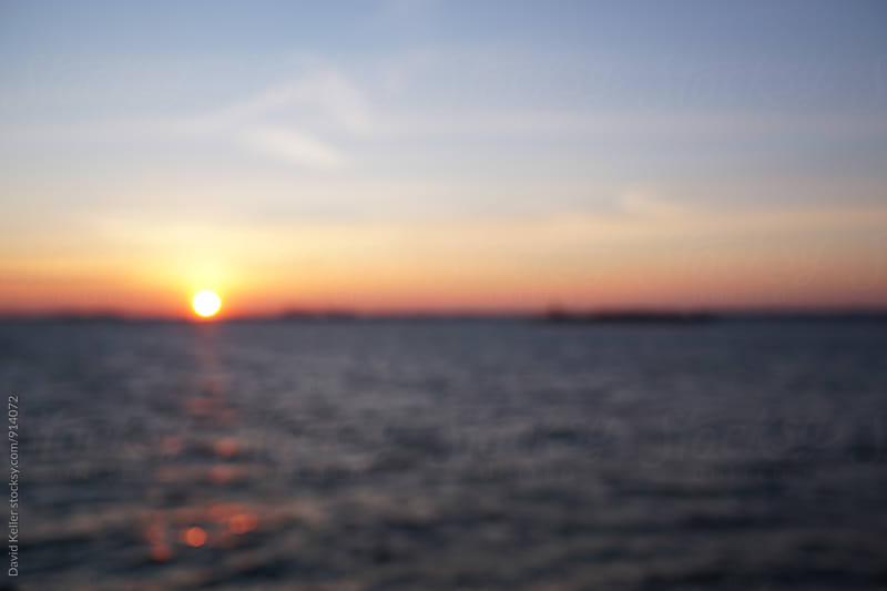 Out of Focus Sunset by David Keller for Stocksy United