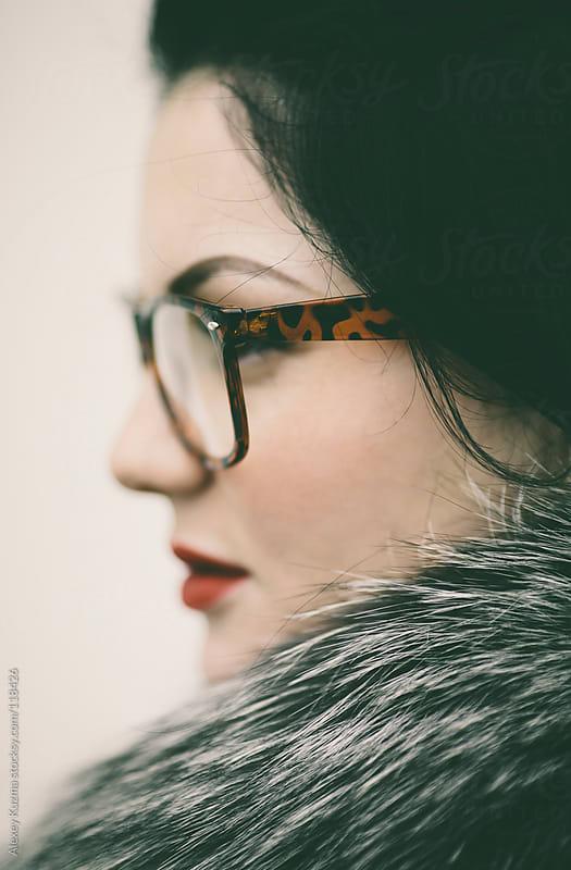 Portrait of a woman by Alexey Kuzma for Stocksy United