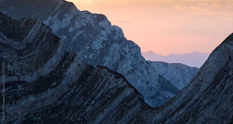 Sunrise on the mountain by Marko Milovanović for Stocksy United