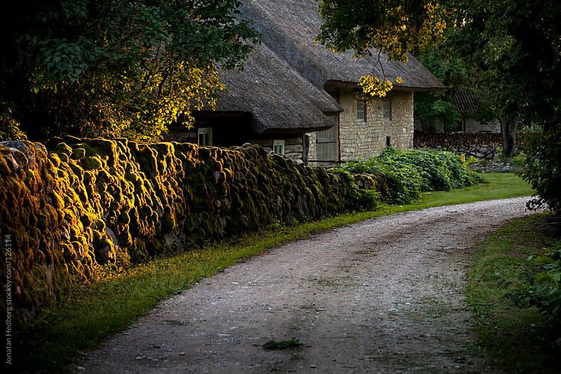 A traditional Estonian rural house by Jonatan Hedberg for Stocksy United