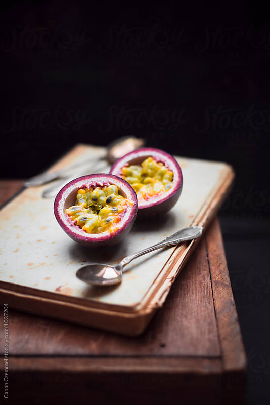 fresh passion fruit by Canan Czemmel for Stocksy United