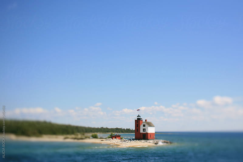 Round Island Lighthouse by ALICIA BOCK for Stocksy United