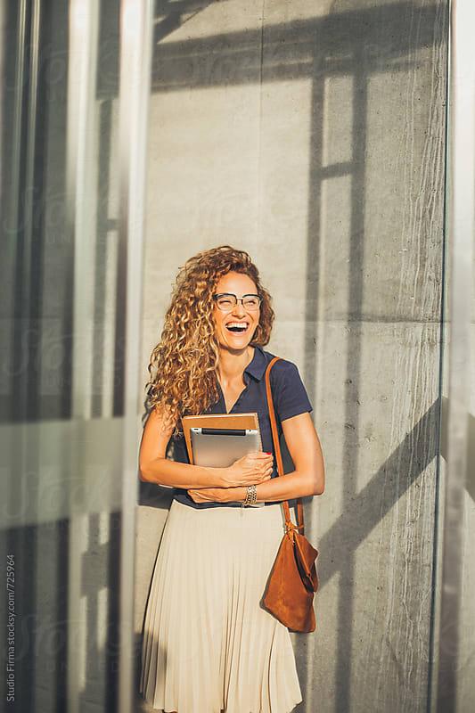 Businesswoman Portrait. by Studio Firma for Stocksy United