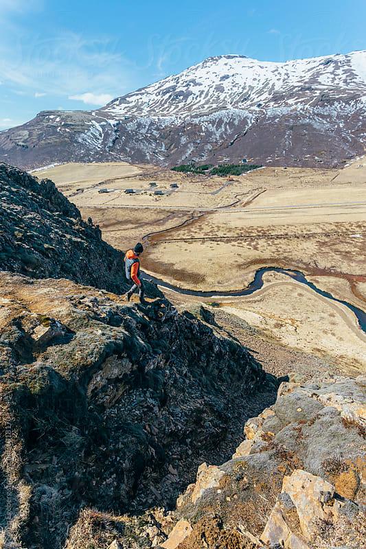 Hiking in Iceland by Søren Egeberg Photography for Stocksy United