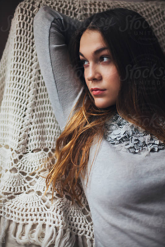 Young Woman Resting by Lumina for Stocksy United