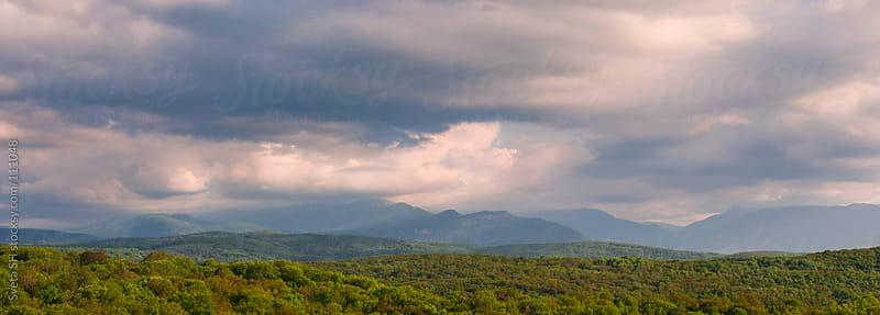 The sky above the ridge by Sveta SH for Stocksy United