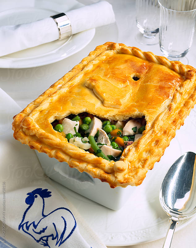 Chicken pot pie by J.R. PHOTOGRAPHY for Stocksy United
