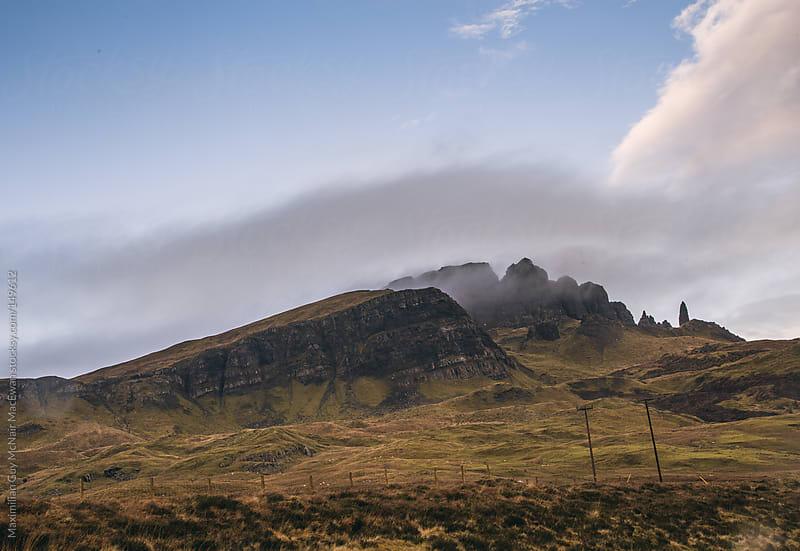 Wild Scottish Mountains by Maximilian Guy McNair MacEwan for Stocksy United