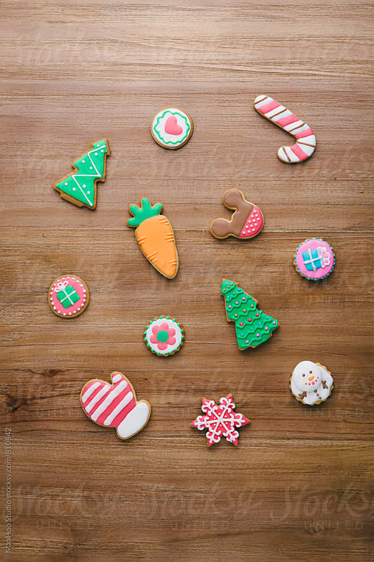 Christmas cookies by MaaHoo Studio for Stocksy United