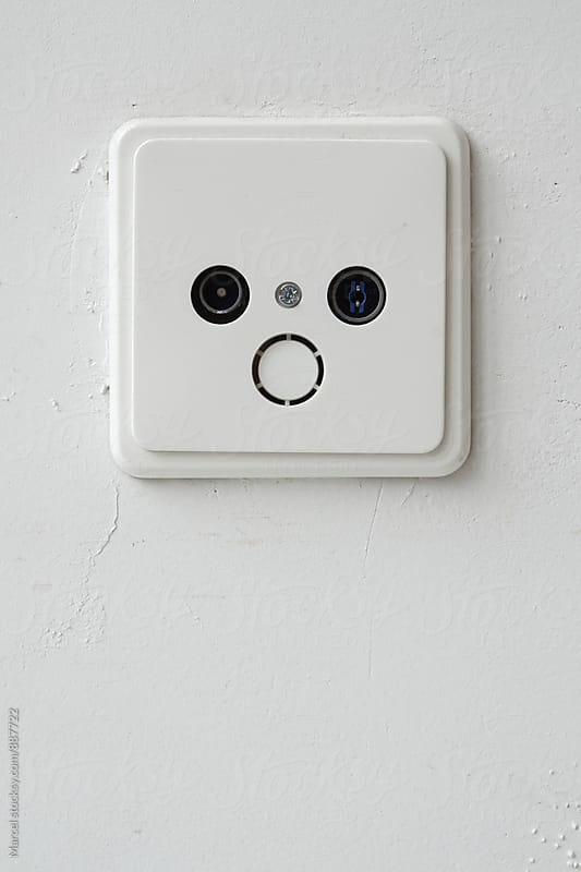 Shocked socket face by Marcel for Stocksy United