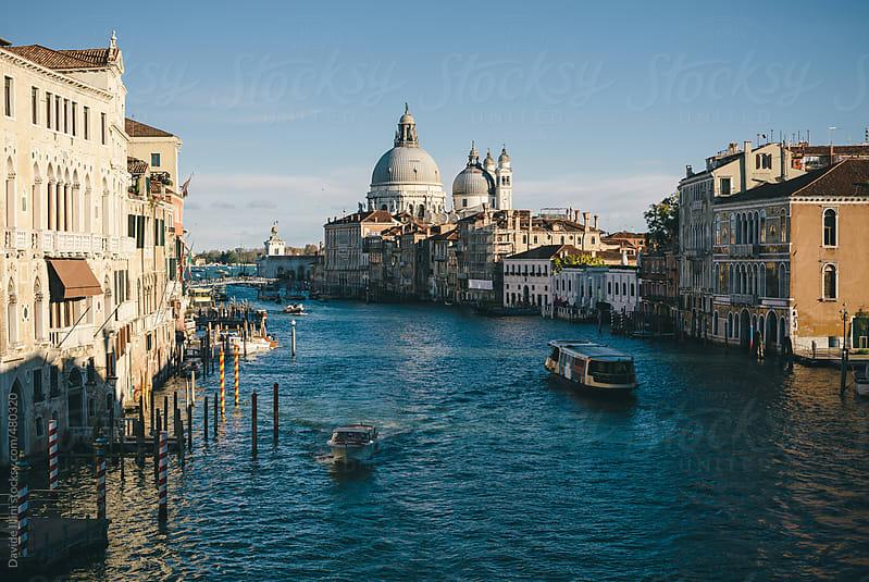 Grand Canal in Venice. by Davide Illini for Stocksy United